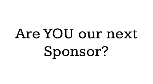 Are You Our Next Sponsor?